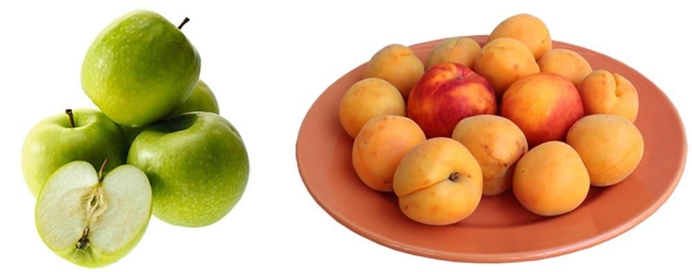 apple&peach