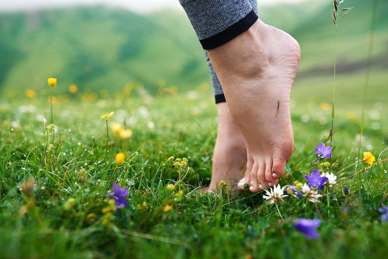 Алергія на ногах фото