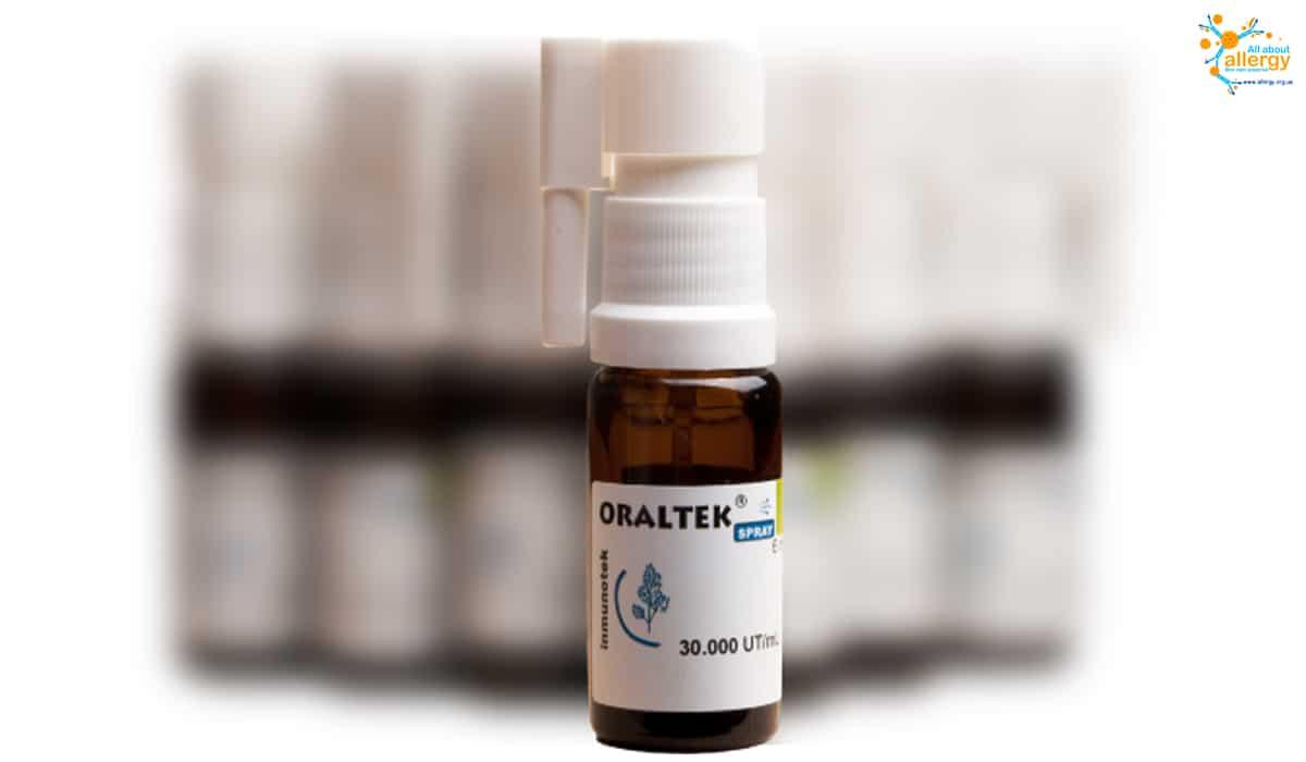 Оралтек (Oraltek) - алерген-специфічна імунотерапія