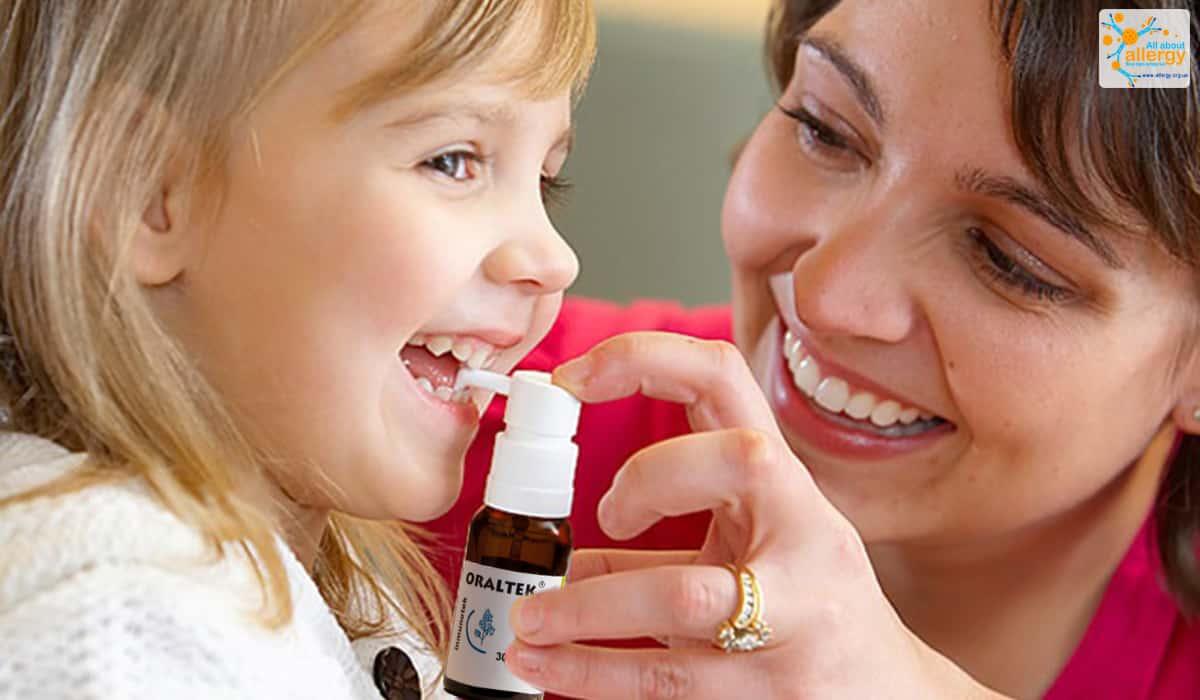 АСИТ у детей — спрей «Оралтек» (Oraltek)