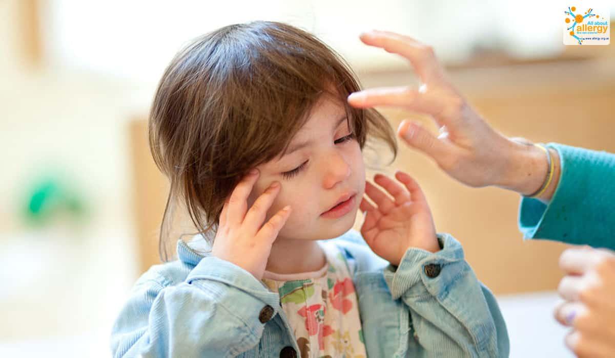 Алергія на шкірі дитини фото