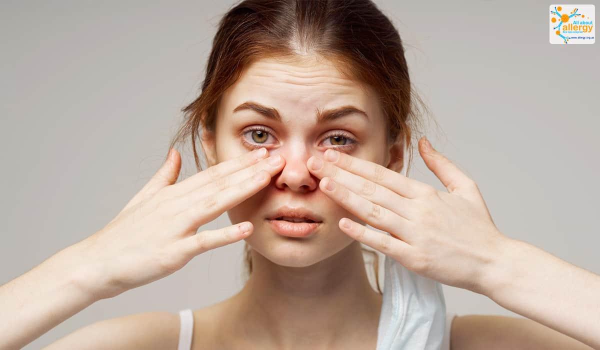 Алергія на пил фото