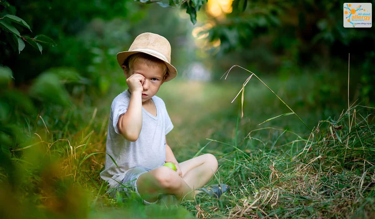 Алергія на пилок злакових трав