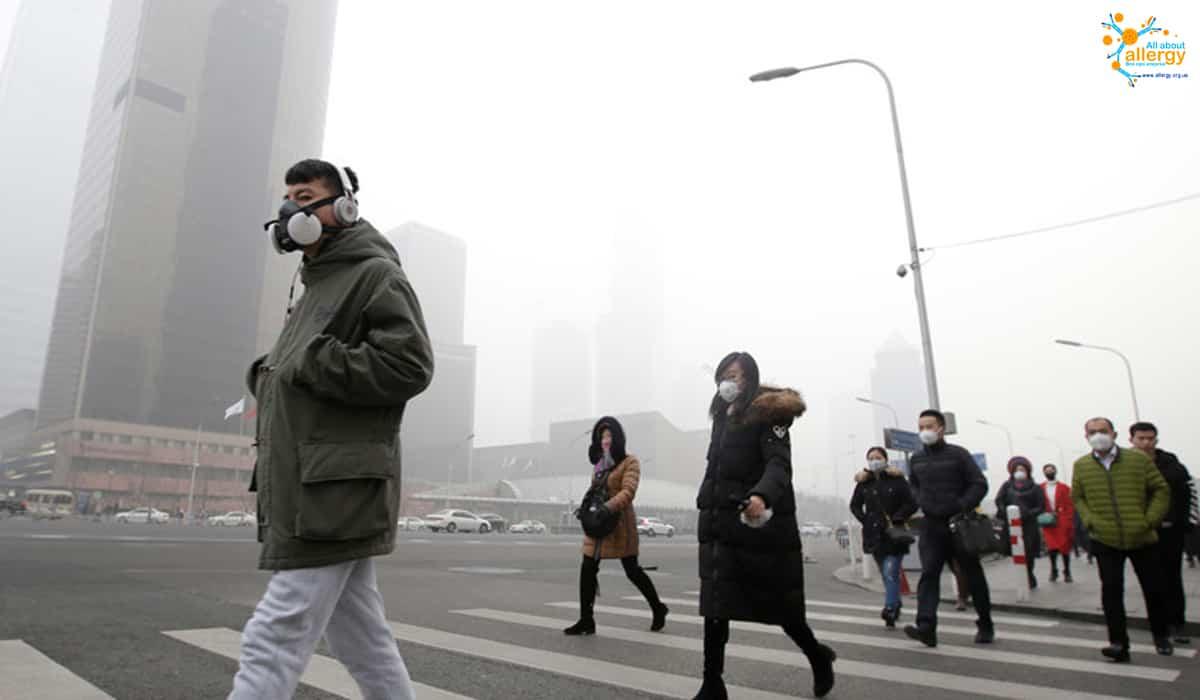 Маски для обличчя під час смогу