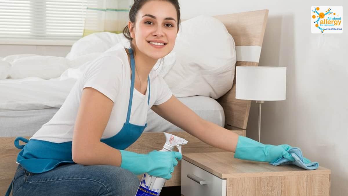 Аллергия на домашнюю пыль: профилактика